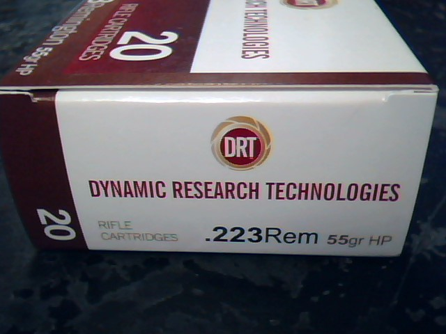 DYNAMIC RESEARCH TECHNOLOGIES Ammunition 223