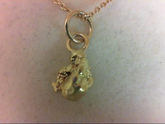 Gold Pendant 22K Yellow Gold 2.8g