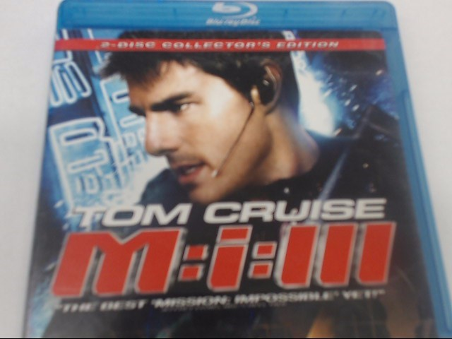 MISSION IMPOSSIBLE III - BLU-RAY MOVIE