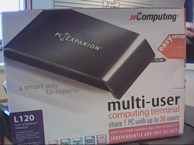 NCOMPUTING Networking & Communication PC EXPANSION L120