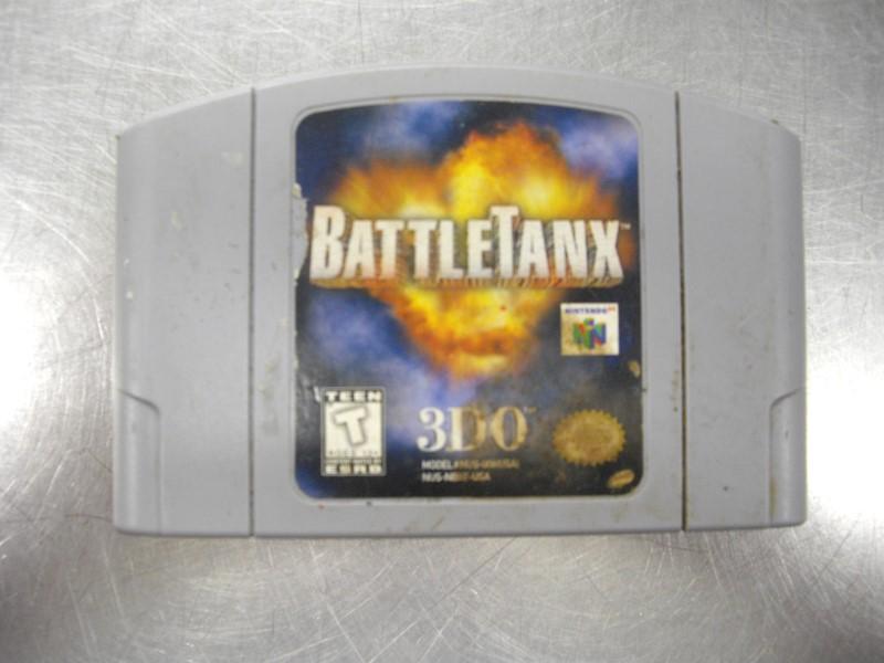 NINTENDO N64 BATTLETANX N64 GAME ONLY