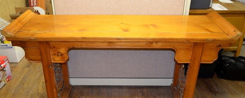 ANTIQUE HUANGHUALI ALTAR TABLE