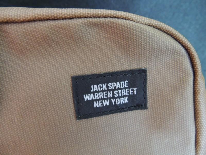 JACK SPADE BAG SHOULDER MESSENGER TRAVEL BAG