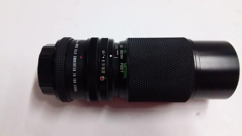 VIVITAR Lens/Filter SMS 80-200MM