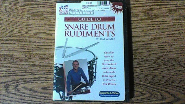 WATCH & LEARN DVD GUIDE TO SNARE DRUMS