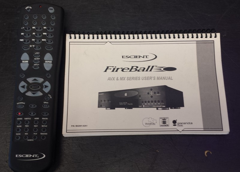 ESCEIENT Home Audio Parts & Accessory FIREBALL AVX-211