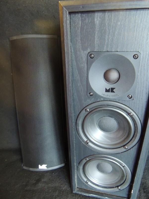 Miller & Kreisel M&K LCR 75 Bookshelf Center Channel 200 Watts 4 Ohm Speaker