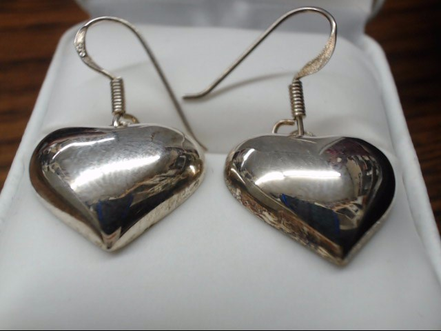 Silver Earrings 925 Silver 6.3g