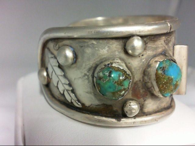 Antique Silver Bracelet 925 Silver 53.1g