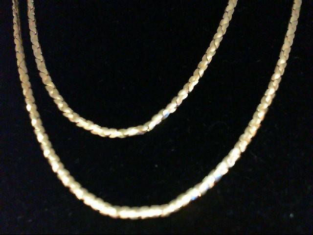 "30"" Gold Chain 14K Yellow Gold 5.2g"