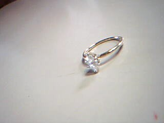 Lady's Diamond Solitaire Ring .50 CT. 14K Yellow Gold 1.4g