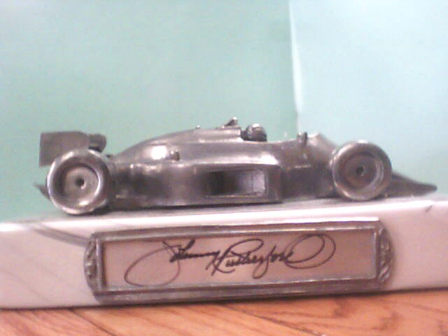 MICHAEL RICKER Sports Memorabilia PEWTER CARS