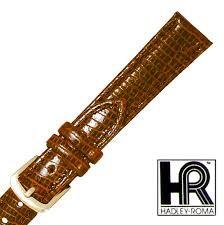 HADLEY ROMA Watch Band LS716 14R BRN