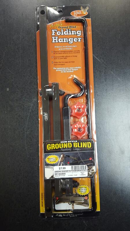 GROUND SHAKER Outdoor Sports BLIND FOLDING HANGER GROUND BLIND FOLDING HANGER