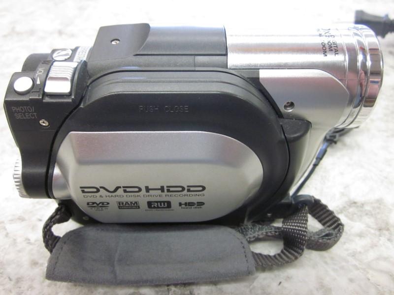 HITACHI DZ-HS300A DVD/HDD HYBRID CAMCORDER