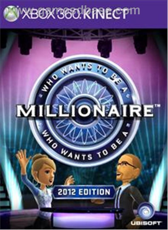 Who Wants to be a Millionare: 2012 Edition (Xbox 360, 2011)