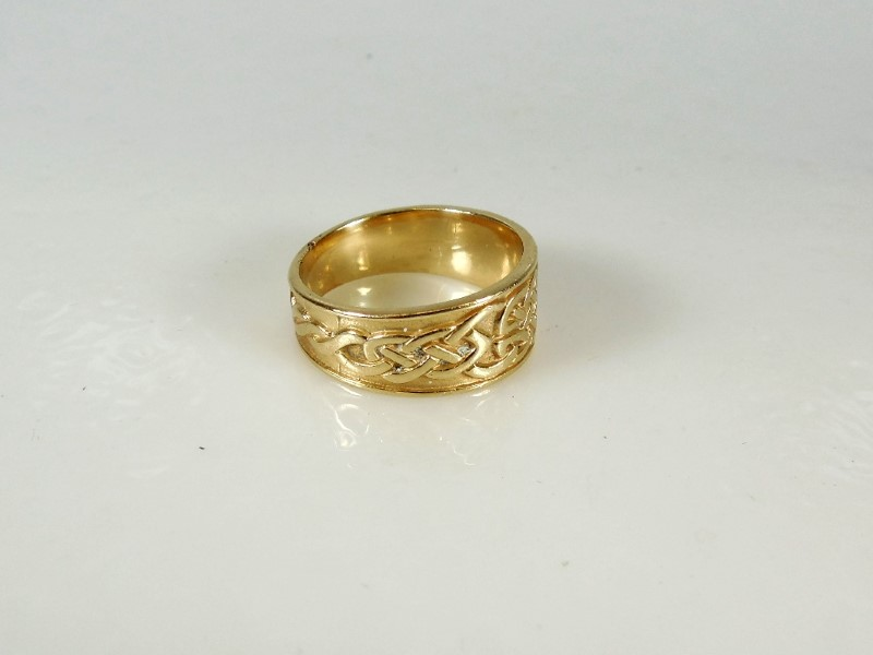 Gent's Gold Ring 14K Yellow Gold 8g Size:11