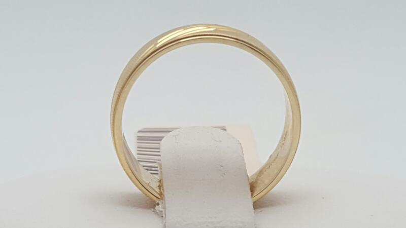 Lady's Gold Ring 14K Yellow Gold 3.5g Size:5.3