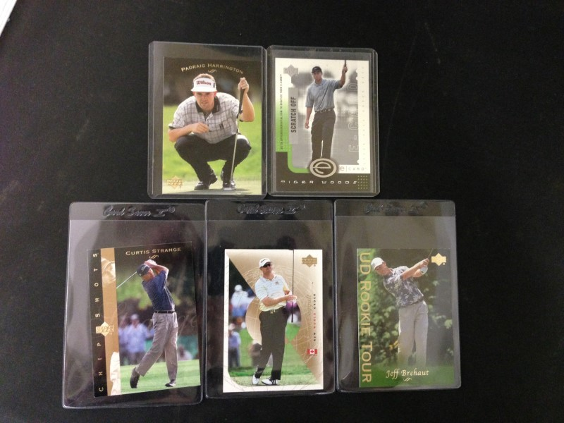 5 GOLF CARD LOT