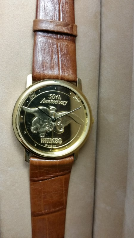 DISNEY Gent's Wristwatch DUMBO 1647