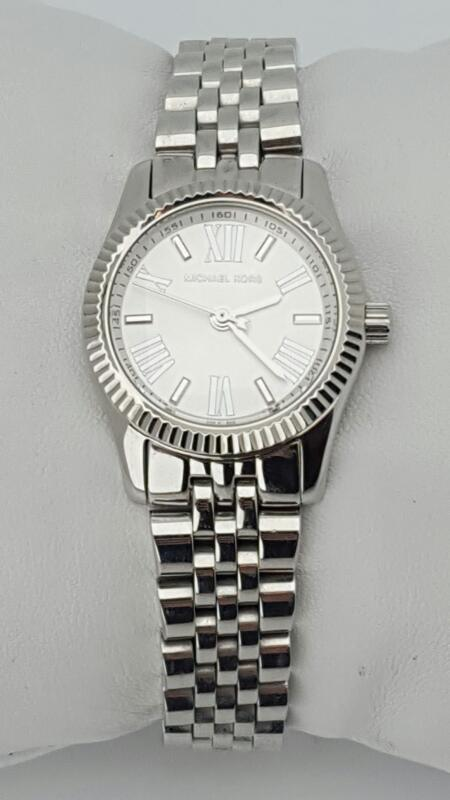 MICHAEL KORS Lady's Wristwatch MK-3228 LEXINGTON WHITE DIAL