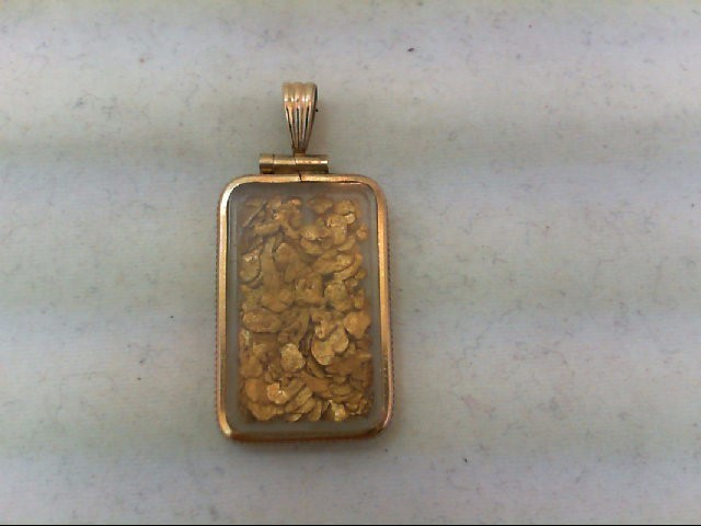 Gold Pendant 24K Yellow Gold 3.7g