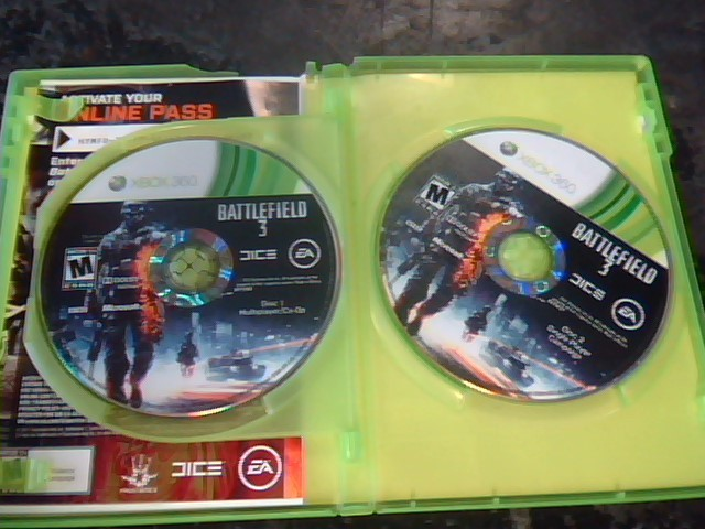 MICROSOFT Microsoft XBOX 360 XBOX 360 BATTLEFIELD 3