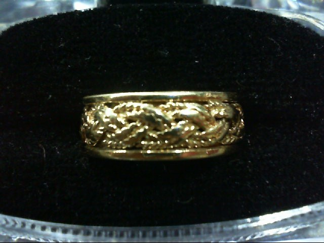 Lady's Gold Wedding Band 14K Yellow Gold 5.2g
