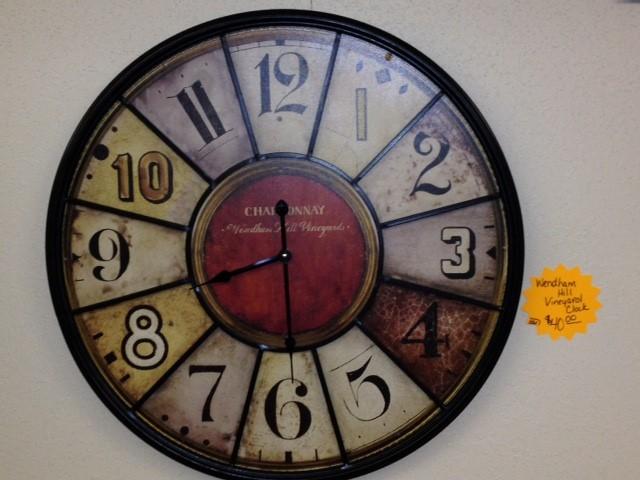 WENDHAM VINEYARD CLOCK