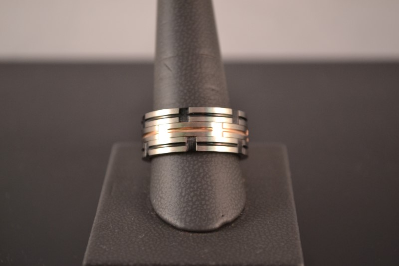 Gent's Ring Silver Stainless 12.1g