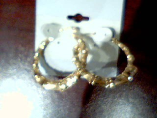Gold Earrings 10K Yellow Gold 3.1g