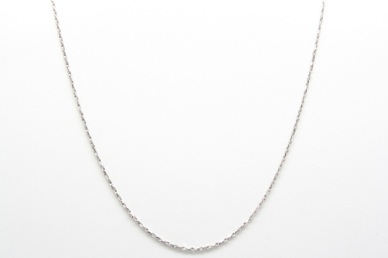 "16"" GOLD ROPE CHAIN 18K WG 3.0g"