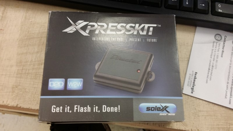 DIRECTED ELECTRONICS Parts & Accessory XPRESSKIT SOLEX