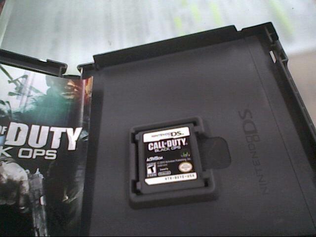 NINTENDO Nintendo DS CALL OF DUTY BLACK OPS DS