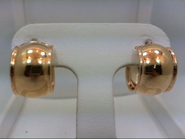 Gold Earrings 14K Yellow Gold 1.8g