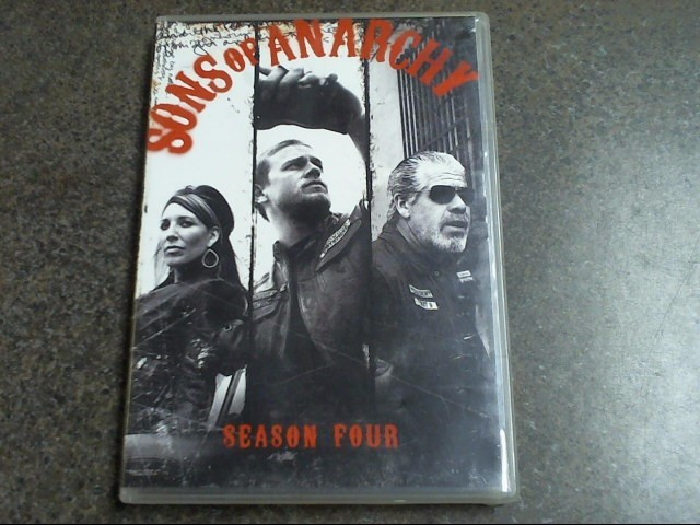DVD SONS OF ANARCHY SEASON 4