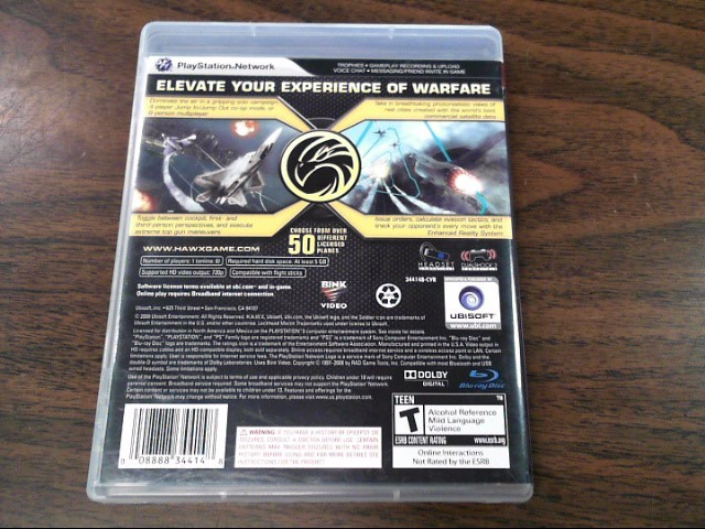 SONY Sony PlayStation 3 Game HAWX