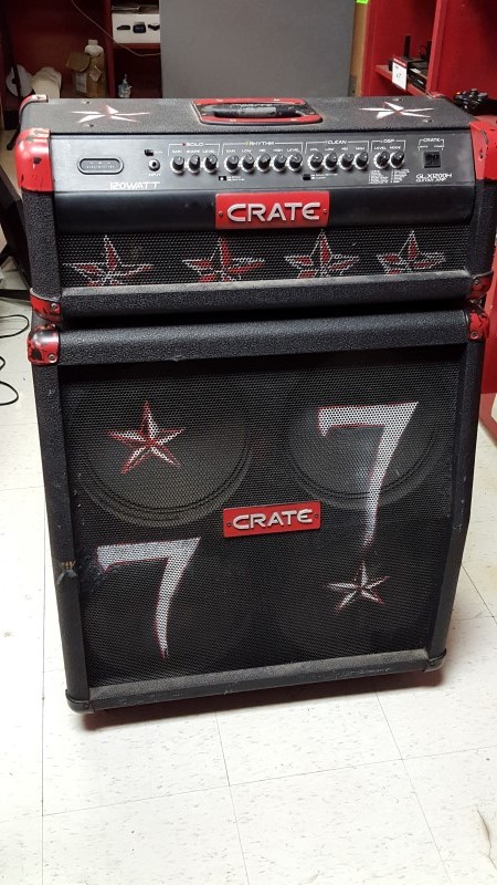 CRATE Electric Guitar Amp GLX1200H
