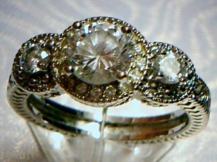 Lady's Ring Silver Stainless 3.3dwt