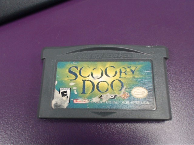 Scooby Doo (Nintendo Game Boy Advance, 2002)