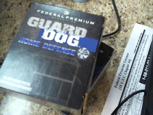 FEDERAL AMMUNITION Ammunition GUARD DOG