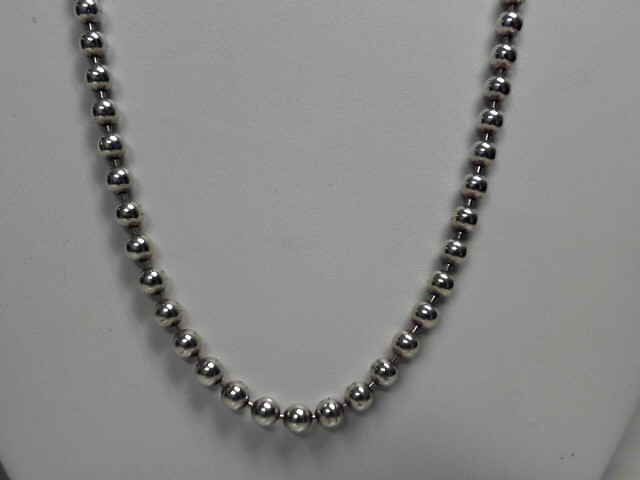 "22"" Sterling Silver Toilet Chain Necklace 28.3g"