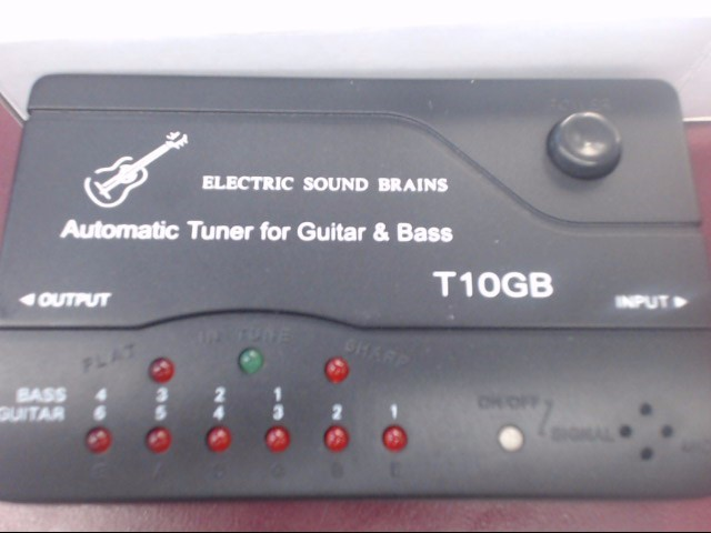 ESTEBAN GUITAR TUNER T10GB