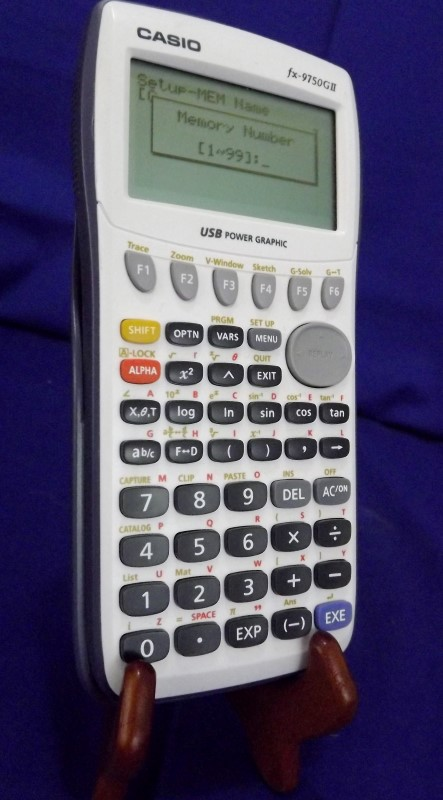 CASIO FX-9750GII SCIENTIFIC CALCULATOR