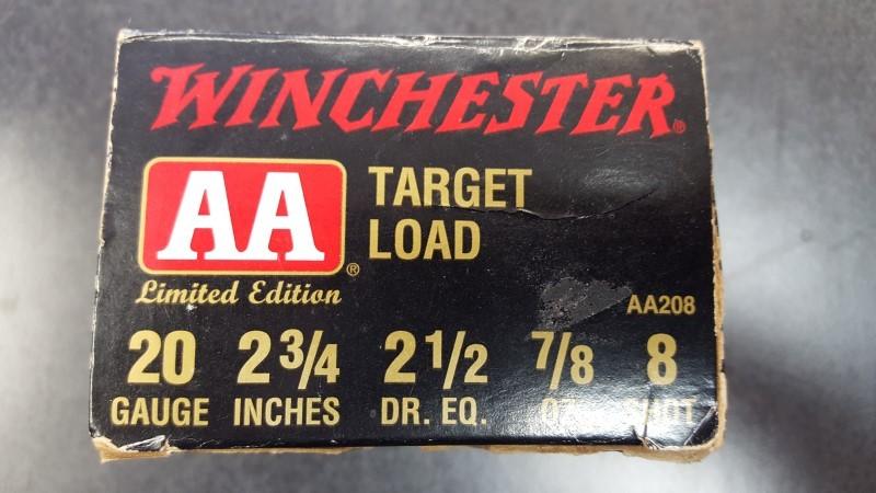 WINCHESTER Ammunition 20 GAUGE
