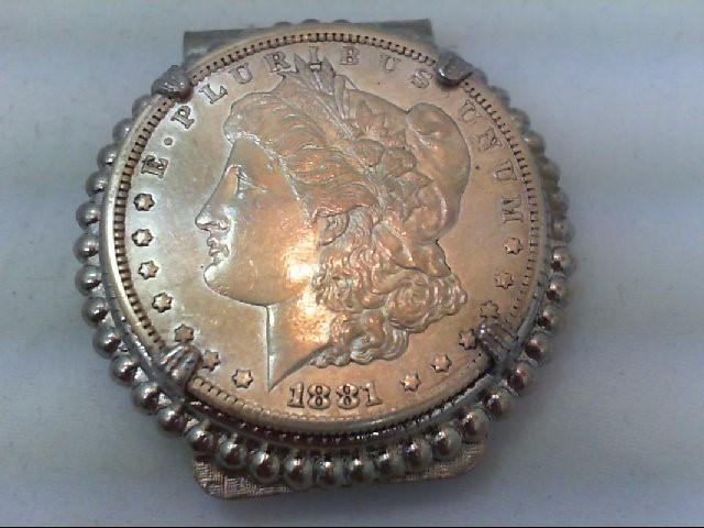 1881 MORGAN $ MONEY CLIP