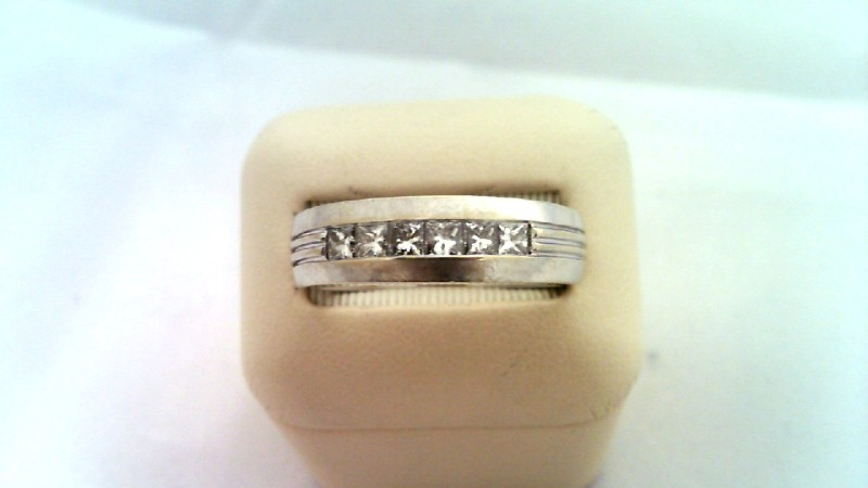 GENTS GOLD DIAMOND BAND