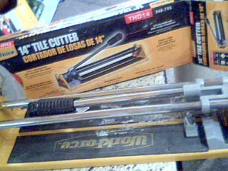 WORK FORCE Tile Cutter THD-14