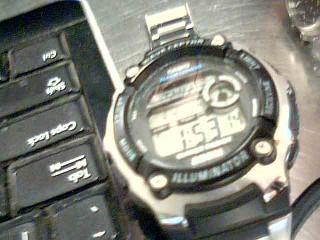 CASIO Gent's Wristwatch WAVE CEPTOR