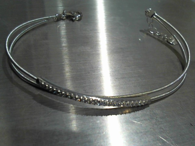 Gold Bracelet 14K White Gold 7.3g
